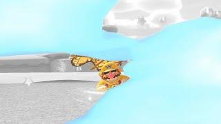 ジャンプ先の回避不能な青甲羅にワリオさんも困惑顔になってしまう;【マリオカート…