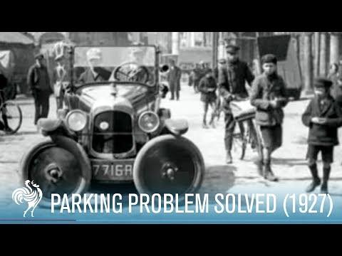 Parking Problem Solved (1927)