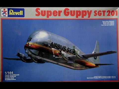super guppy from revell in 1 144 youtube