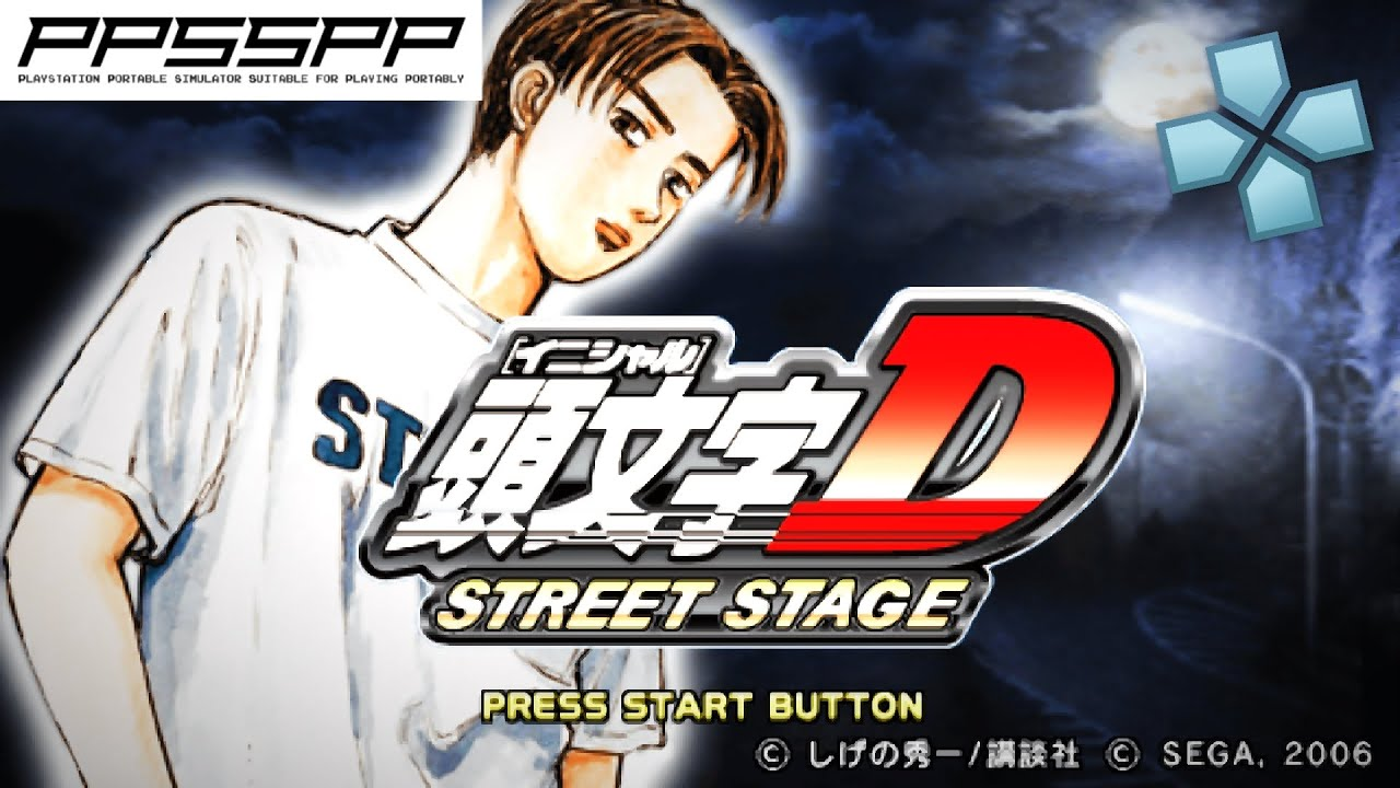 Initial D Street Stage Psp Gameplay Ppsspp 1080p Youtube