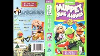 Muppet Sing Alongs It S Not Easy Being Green 1995 UK VHS