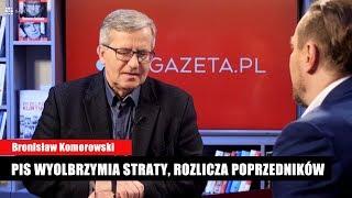 Bronisław Komorowski: Rostowski dał wykład jak niedouczonym dzieciom