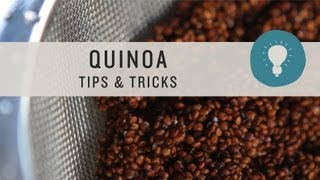 Quinoa Tips and Tricks - Superfoods