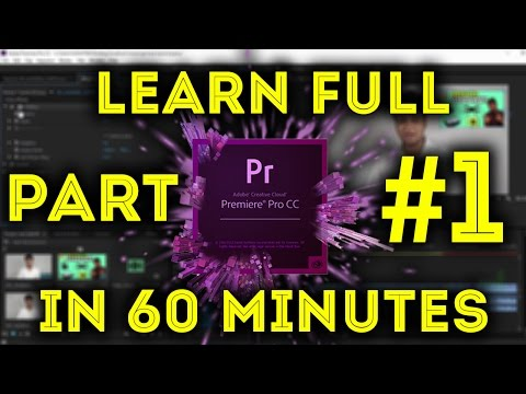 Adobe Premiere Pro Full Tutorial For Beginners 2016 In Hindi