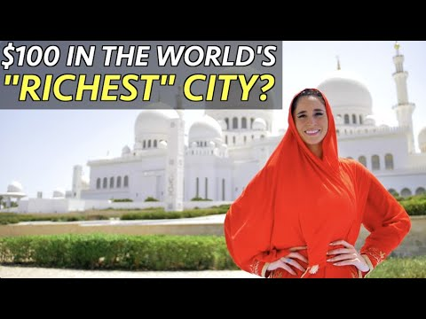 $100 in the World's RICHEST City?! (6 Million views on Facebook!) 😱💸 💰