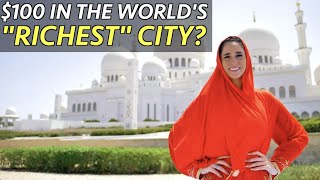 $100 in the World's RICHEST City?! (6 Million view...