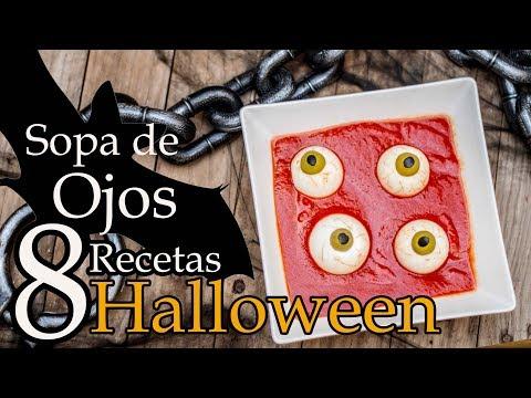 Sopa de Ojos para Halloween por Kocina Konache