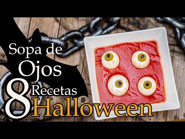Sopa de Ojos 👁 8 Comidas para Halloween