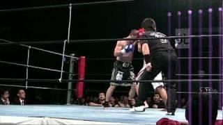 内田洋一(REALDEAL GYM) vs Mr.神風(神風塾) R3