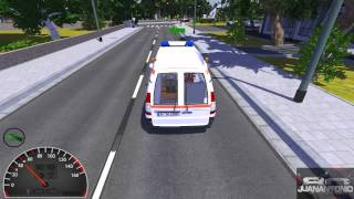 Emergency Ambulance Simulator parte 1 ( Simulador de ambulancias Español)
