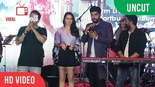 UNCUT - Half Girlfriend Music Concert | Shraddha Kapoor, Arjun Kapoor, Mithoon, Ash King