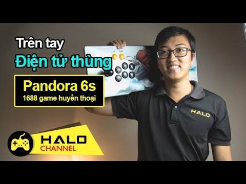 [Haloshop] Chơi game quên ngày tháng với Pandora 6S cài sẵn 1388 trò
