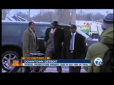 Federal prosecutors present case in day one of trial