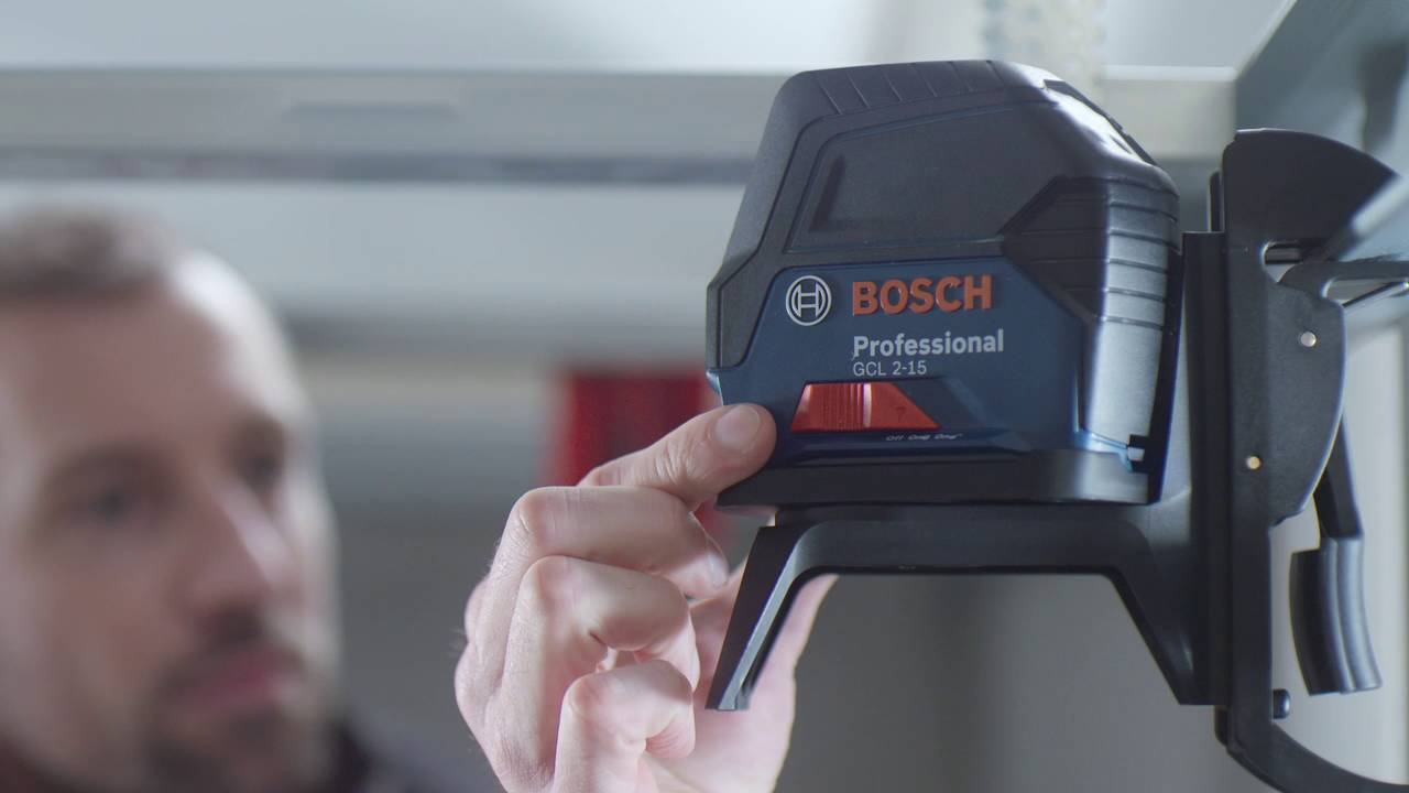 bosch kombilaser gcl 2-15 professional - youtube