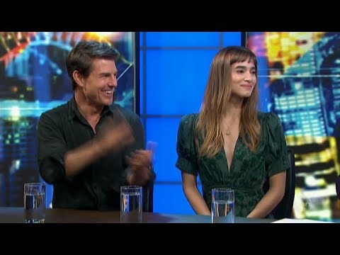 Tom Cruise & Sofia Boutella