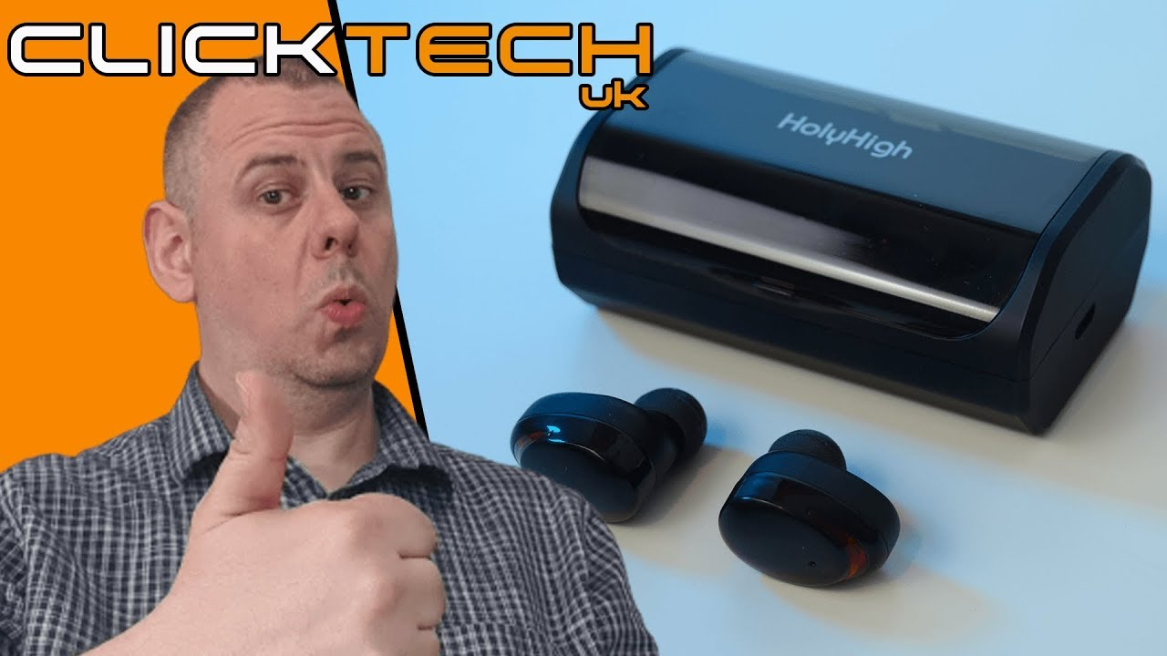 0b59acdeb85 I ❤ these HolyHigh TWS T8 Totally Wireless Earbuds - Unboxing and ...