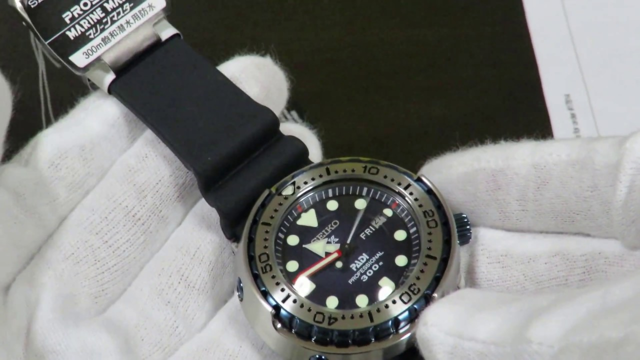 finest selection 957ae 43551 LIMITED RELEASE Seiko PADI Marinemaster Tuna SBBN039