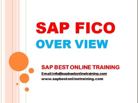 SAP FICO ONLINE TRAINING | FICO TRAINING DEMO | FICO PROJECT SUPPORT | FICO CLASS TRAINING