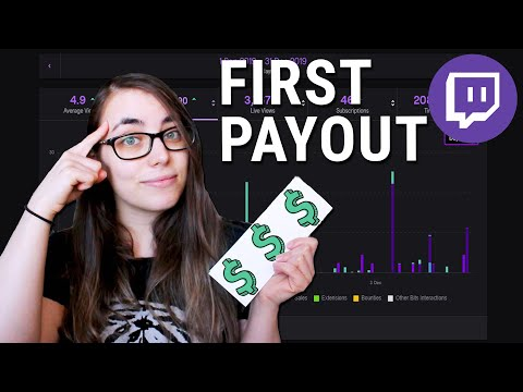 MY FIRST TWITCH CHECK: How Much Do Small Twitch Streamers Make