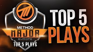 Method EU Major Top 5 Plays