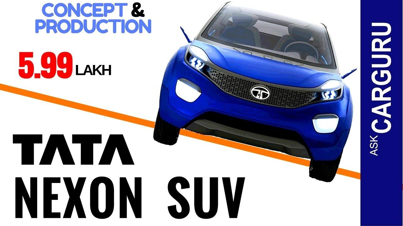 Tata NEXON, CARGURU, हिन्दी में, Concept, Pre-Production ...