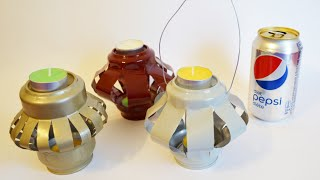 Soda Can Candle Holder