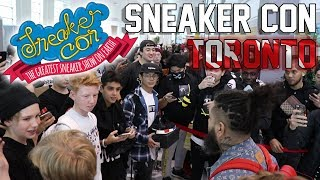 Sneaker Con Toronto - Look at all these samples!