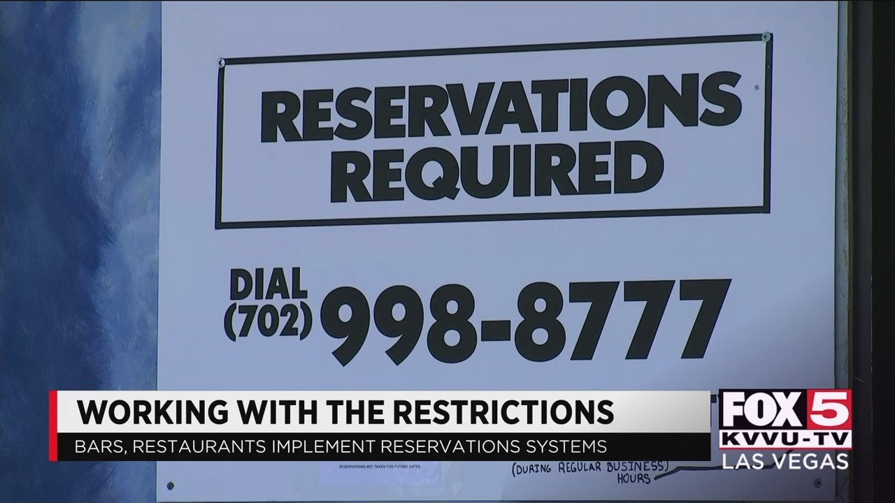 Las Vegas bars, restaurants adapt to reservation system
