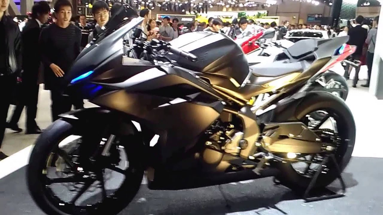 New Honda CBR250R 2017 | at Tokyo Motor Show 2015 | Light Weight Super  Sport Concept