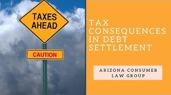 Tax Consequences in Debt Settlement