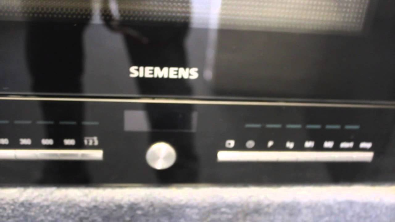 siemens microwave oven graded video model hf25m6l2 youtube. Black Bedroom Furniture Sets. Home Design Ideas