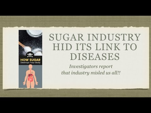 It's Sugar Not Fat That Makes Us Obese- Sugar Industry Lied