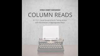 Column Read | June 17, 2021