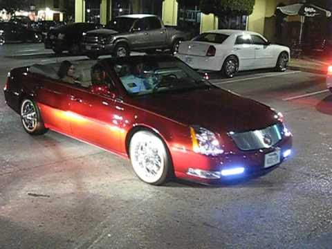 YMCMB's Short Dawg in 2010 Cadillac 4 Door DTS Convertible Slab on 84's