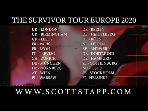 Scott Stapp Europen Tour