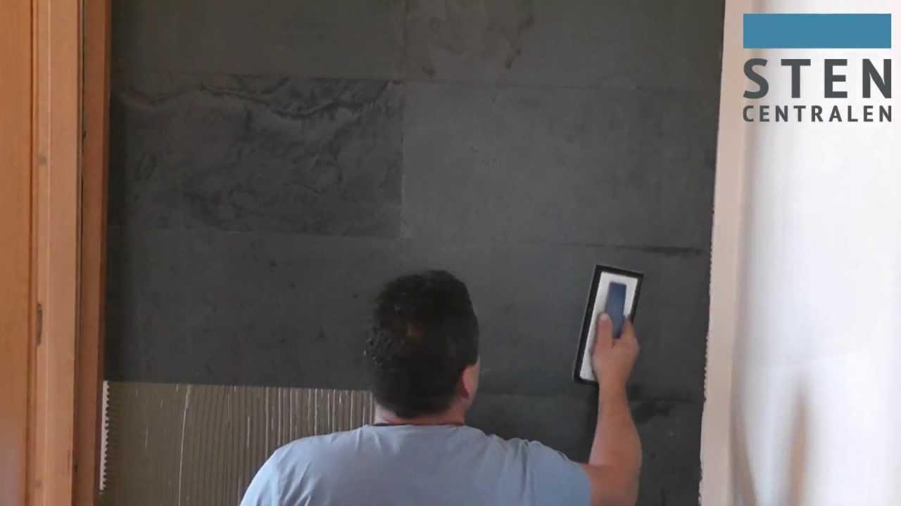 Utn   ultratunn natursten för vägg   stencentralen   youtube