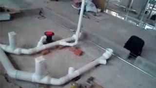 Como instalar la tuberia para baño paso a paso - parte 1 - desague