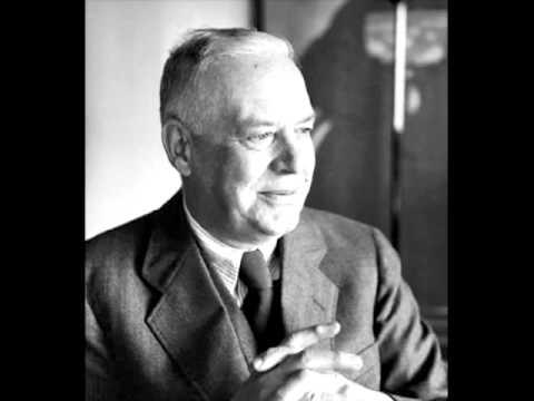 Wallace Stevens reads Final Soliloquy Of The Interior Paramour