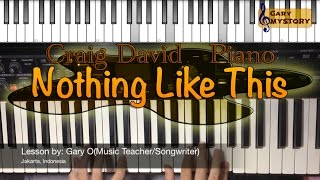 Nothing Like This - Blonde & Craig David Easy Piano Tutorial Song Cover Backtrack (Free Sheet Music)