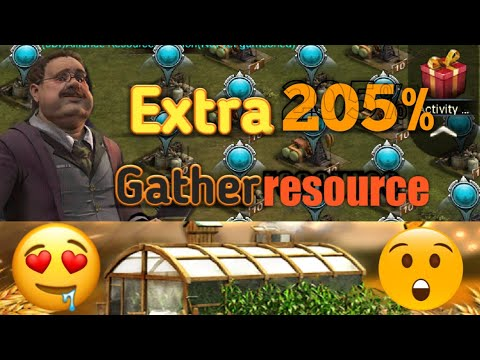 Last Empire War.Z Extra 205% Gathering Resource