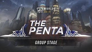 The Penta: 2018 Worlds Group Stage