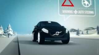 Direction autonome chez Volvo (correction de trajectoire en bord de route)