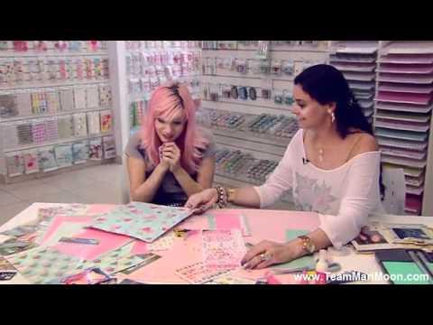 MariMoon aprende e ensina a fazer um Scrapbook @ Acesso MTV (16/09)