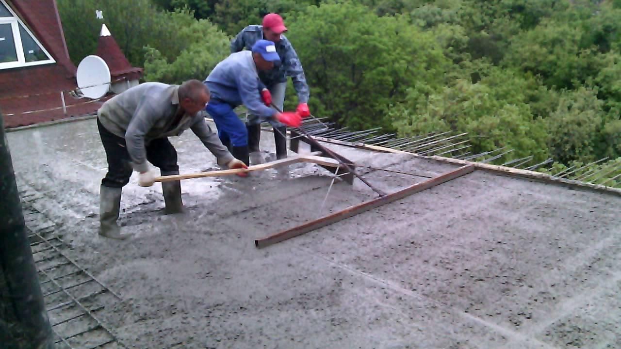 Разравнивание бетона фибробетон без арматуры