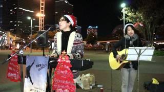 12月23日~25日 Christmas 路上ライブとして、三日間連続で桜木町...