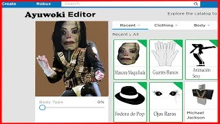 I CREATE the *PERFIL* of AYUWOKI in ROBLOX! 🌟