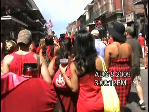 Red dress run 2009