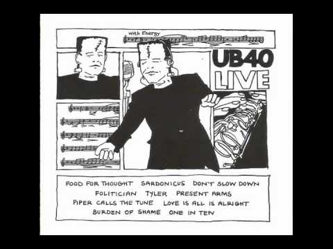 UB40 - Love Is All Is Alright ( Tour in Ireland 1982 )