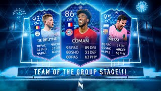 THIS TEAM OF THE GROUP STAGE IS INSANE! - FIFA 21 Ultimate Team