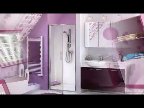 Majestically Pleasing Purple and Lavender Bathroom Designs